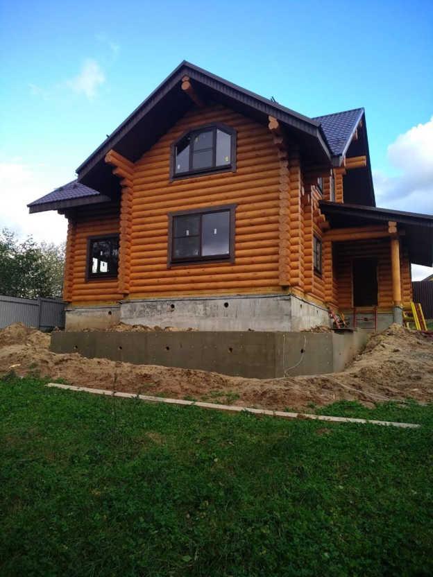 Дом для постоянного проживания фото проект 756