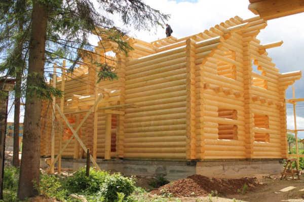 Проект 673 загородного коттеджа  фото от 100срубов