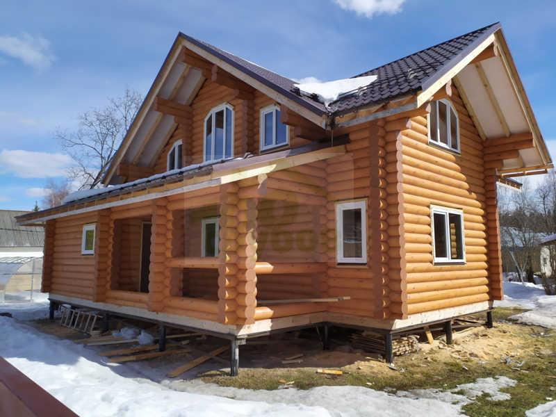 деревянные дома на свайном фундаменте