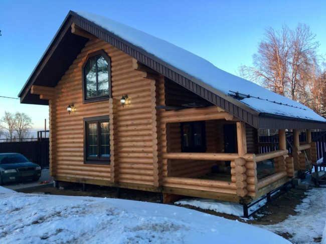 Отзыв о строительстве срубового дома по проекту 544