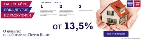 Кредиты в Почта банке и Кредит Европа Банке. Кредитный калькулятор.