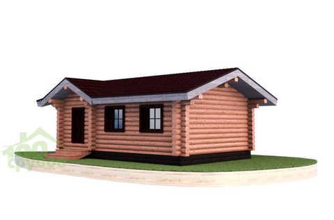 Проект одноэтажного дома #905