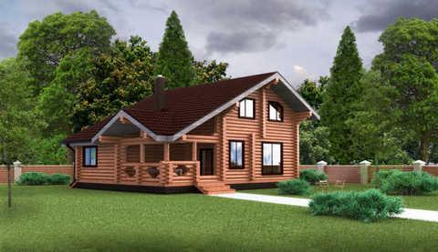Проект дома с парной #898