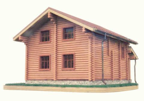 Проекты домов 8 x 8