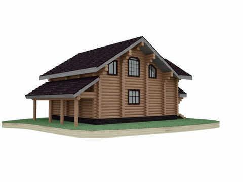 В деревянном доме всегда прохладно летом и тепло зимой