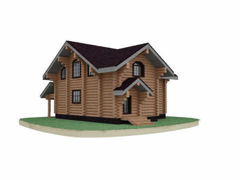 Деревянный дом #816