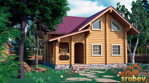 проект дома 9 x 9 #303
