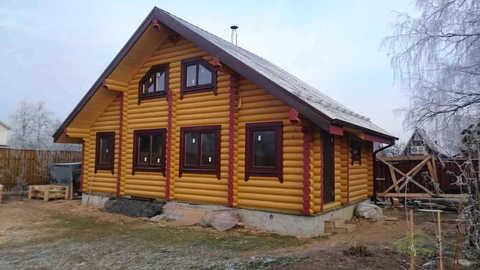 Проект дома 6 x 10