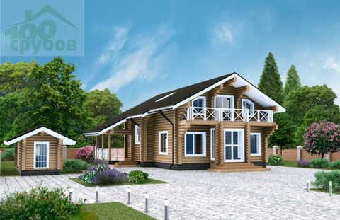 Проект дома с террасой #930