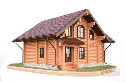 дом 8 x 10